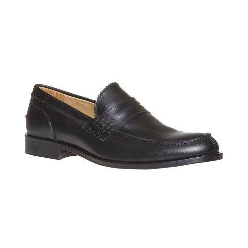 Mocassini in pelle da uomo bata-the-shoemaker, nero, 814-6160 - 13