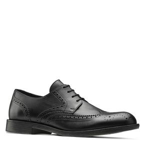 Scarpe basse di pelle in stile Derby bata, nero, 824-6429 - 13