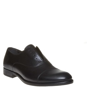 Scarpe Oxford casual in pelle bata, nero, 824-6449 - 13