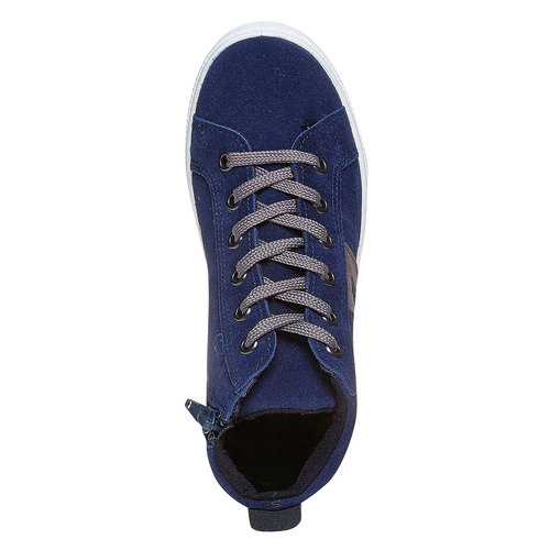 Sneakers da bambino in pelle north-star, viola, 313-9239 - 19