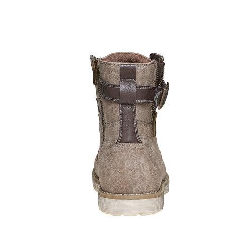 Scarpe da uomo alla caviglia bata, grigio, 891-2237 - 17