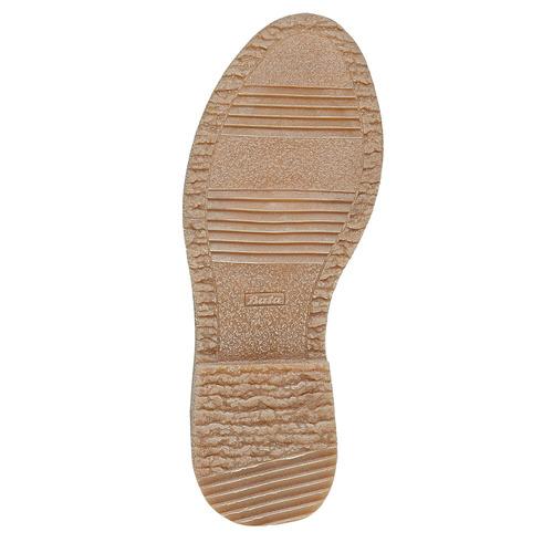 Scarpe basse da donna in stile Oxford bata, marrone, 529-3143 - 26