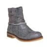 Stivali da ragazza con strass mini-b, grigio, 391-2261 - 13