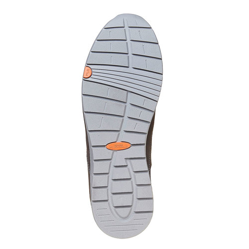 Scarpe comode da uomo flexible, grigio, 846-2696 - 26