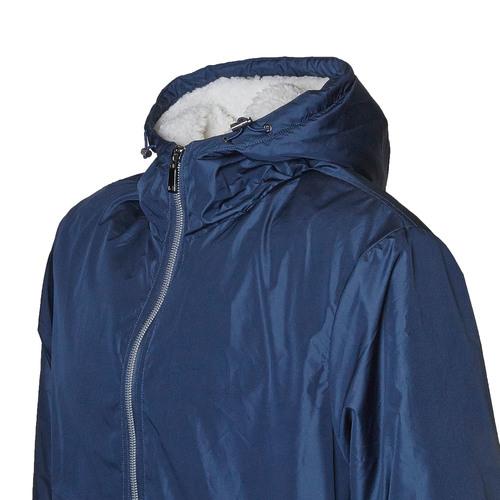 Giacca da uomo con cappuccio bata, blu, 979-9617 - 16
