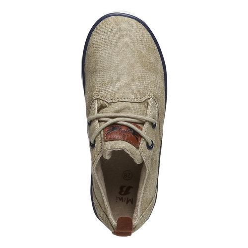 Sneakers informali da bambino mini-b, giallo, 319-8200 - 19