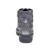 Sneakers argentate con cuciture bata, grigio, 691-2390 - 17
