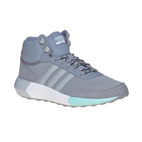 Sneakers da donna alla caviglia adidas, grigio, 509-2894 - 13