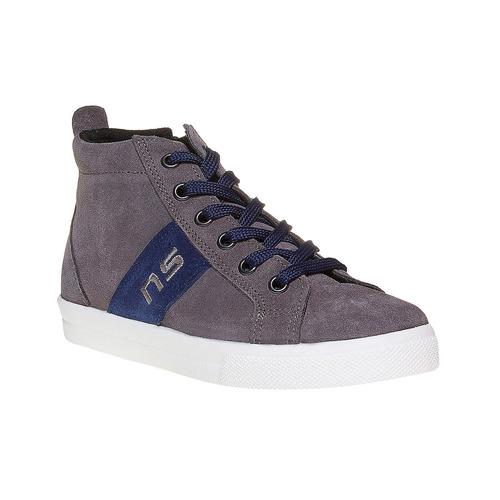 Sneakers da bambino alla caviglia north-star, grigio, 313-2239 - 13