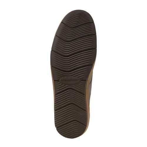 Sneakers da uomo in pelle alla caviglia weinbrenner, viola, 894-9521 - 26