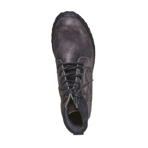 Scarpe invernali da uomo in pelle weinbrenner, grigio, 894-2256 - 19