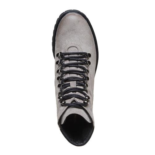 Scarpe alla caviglia da donna weinbrenner, grigio, 593-2810 - 19