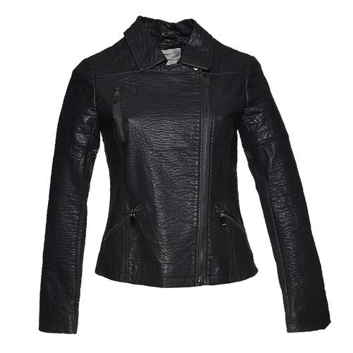 Giacca da donna con cerniera trasversale bata, nero, 971-6188 - 13