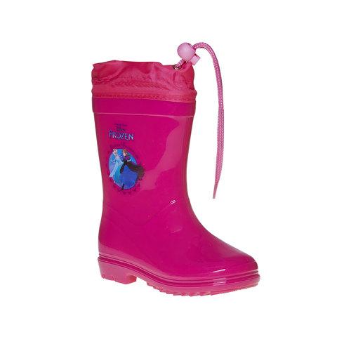 Stivali di gomma rosa da bambina, rosso, 292-5162 - 13