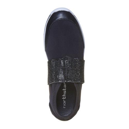 Sneakers da donna north-star, nero, 549-6260 - 19