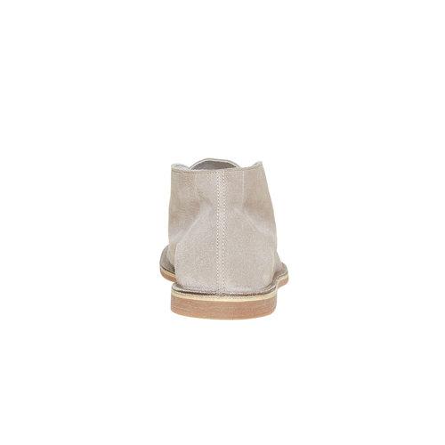 Scarpe scamosciate in stile Desert bata, grigio, 843-2267 - 17