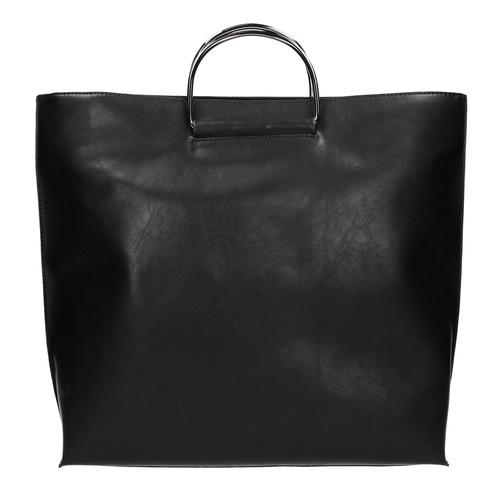 Borsetta da donna con manici in metallo bata, nero, 961-6789 - 26