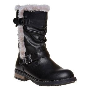 Stivali invernali da bambina mini-b, nero, 391-6245 - 13