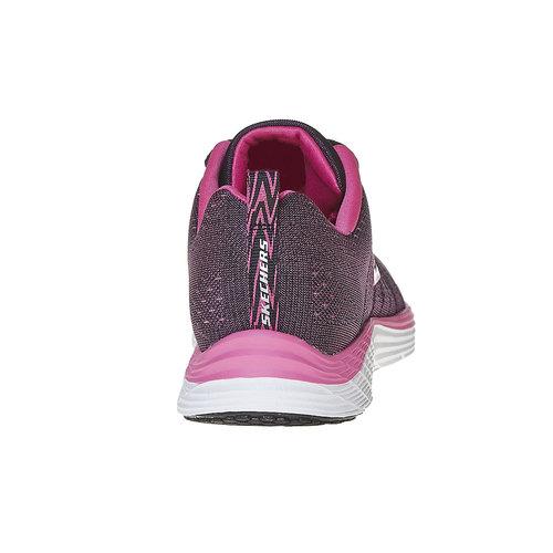 Sneakers sportive da donna skechers, rosso, 509-5353 - 17