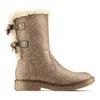 Scarpe invernali da donna con fiocco bata, grigio, 599-2994 - 26