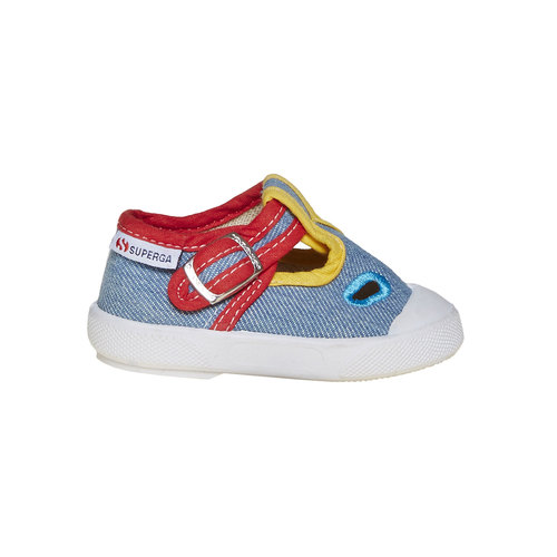 Sandali colorati per i più piccoli superga, blu, 169-0314 - 15