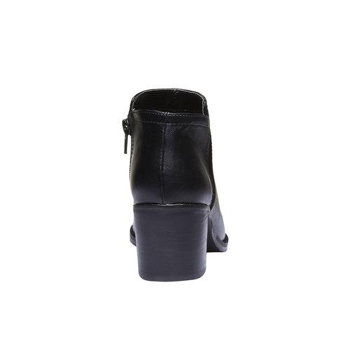Stivaletti donna bata, nero, 691-6285 - 17
