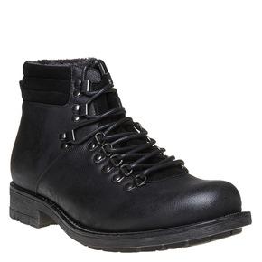 Scarpe da uomo alla caviglia, nero, 891-6544 - 13
