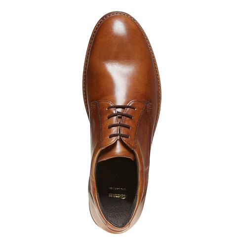 Scarpe basse da uomo in pelle bata, marrone, 824-3219 - 19