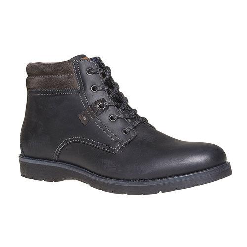 Scarpe da uomo alla caviglia bata, nero, 894-6281 - 13