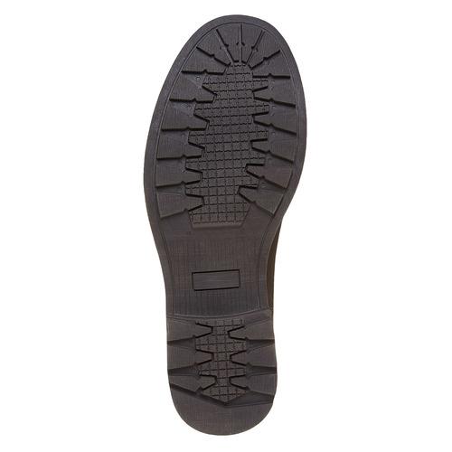 Scarpe da uomo sopra la caviglia, marrone, 891-4544 - 26