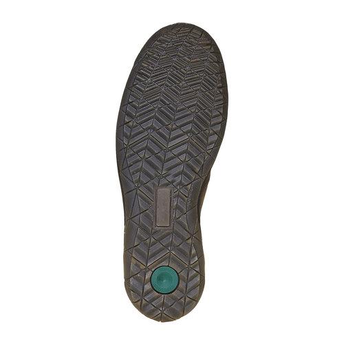 Scarpe basse di pelle da uomo bata, grigio, 836-2127 - 26