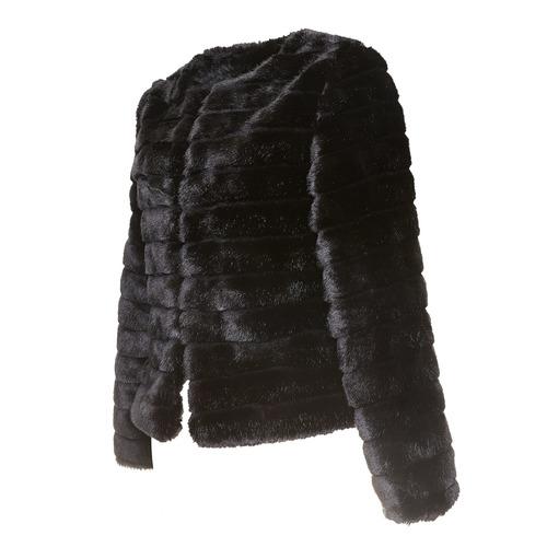 Pelliccia elegante da donna bata, nero, 979-6644 - 16