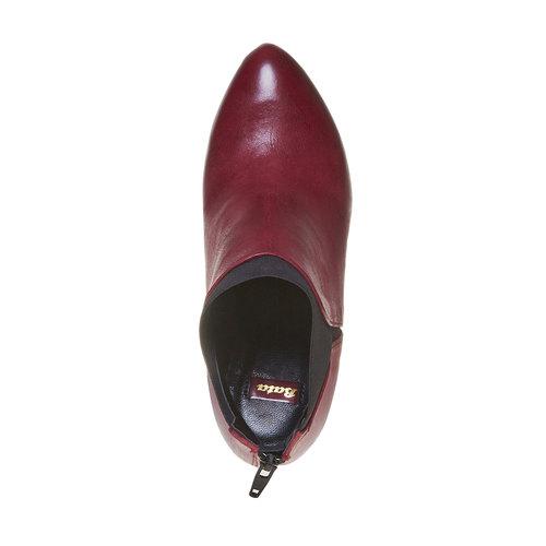 Stivaletti da donna alla caviglia bata, rosso, 794-5596 - 19