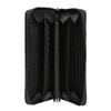 Portafoglio da donna in pelle con cuciture bata, nero, 944-6164 - 15