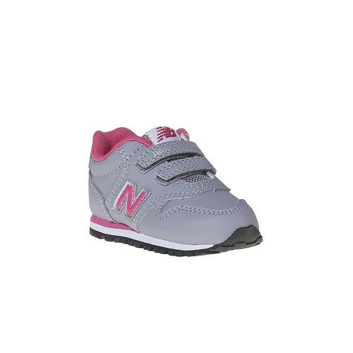 Sneakers grigie da bambino new-balance, grigio, 101-2500 - 13