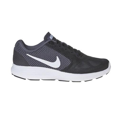 Sneakers sportive da donna nike, nero, 509-6220 - 15