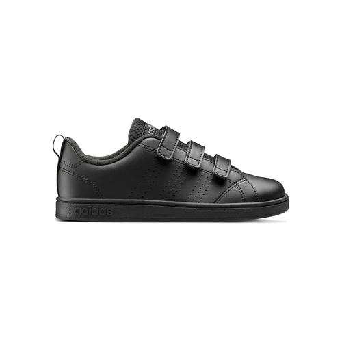 Sneakers da bambino con chiusure a velcro adidas, nero, 301-6168 - 26