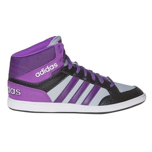 Sneakers da bambina alla caviglia adidas, grigio, 401-2331 - 15