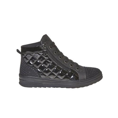 Sneakers lucide con strass mini-b, nero, 321-6165 - 15