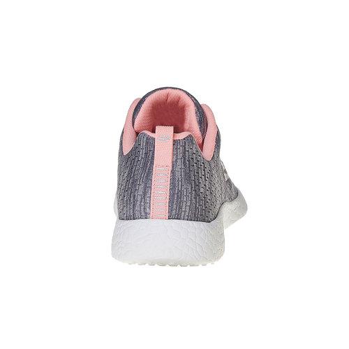 Sneakers da donna con motivo skechers, grigio, 509-2354 - 17