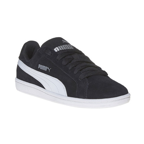 Sneakers da donna in pelle puma, nero, 503-6210 - 13
