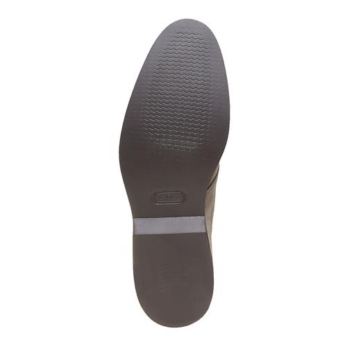 Scarpe Chukka da uomo in pelle bata-the-shoemaker, grigio, 893-2702 - 26