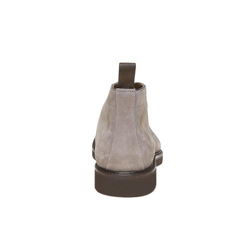 Scarpe Chukka da uomo in pelle bata-the-shoemaker, grigio, 893-2702 - 17