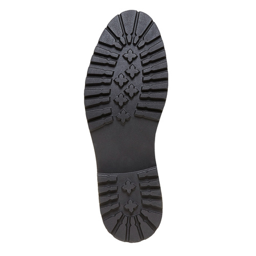 Scarpe da uomo in pelle alla caviglia bata, blu, 894-9634 - 26