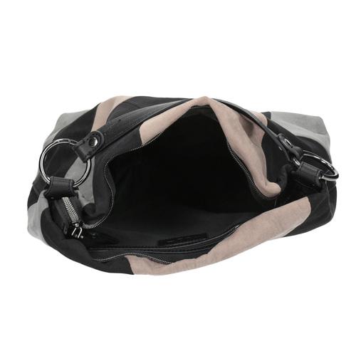 Borsetta in stile Hobo Bag bata, nero, 969-6231 - 15