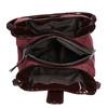Borsetta color bordeaux con dettagli metallici bata, rosso, 969-5209 - 15
