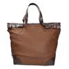 Borsetta in stile Tote Bag bata, marrone, 961-3206 - 26