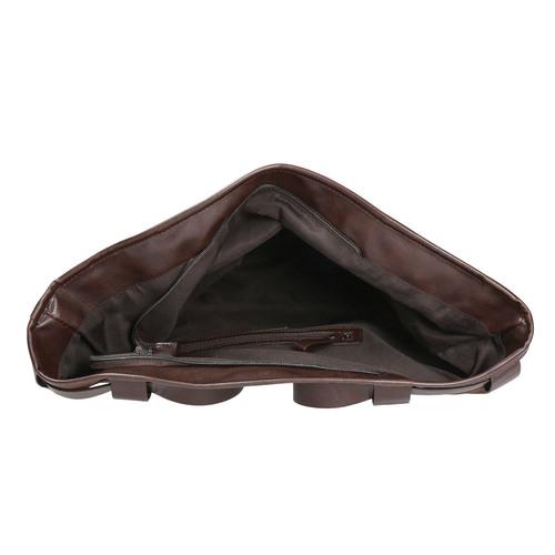 Borsetta in stile Tote Bag bata, marrone, 961-3206 - 15