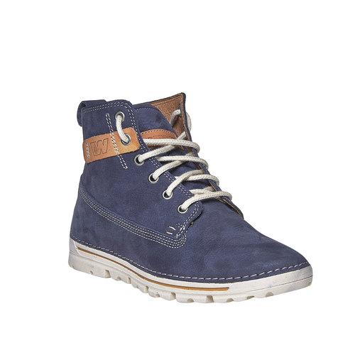 Scarpe da donna sopra la caviglia weinbrenner, blu, 594-9323 - 13