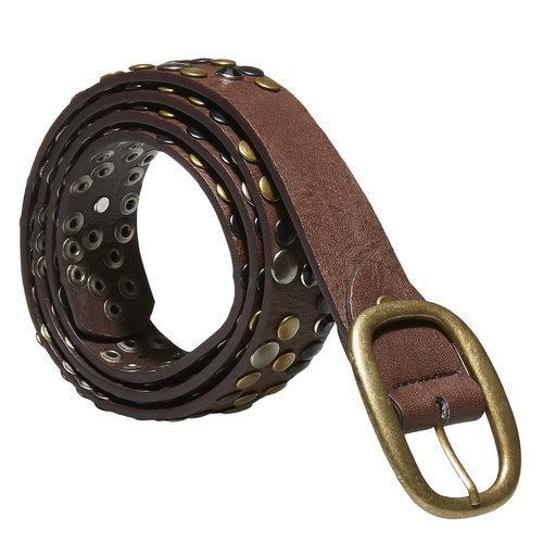 Cintura da donna con applicazioni bata, marrone, 951-4120 - 13